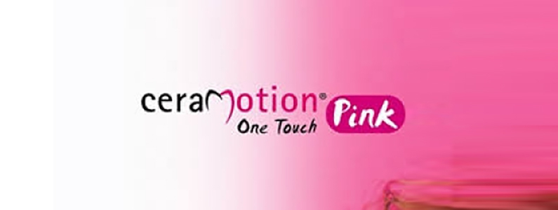 ceraMotion OneTouch Pink