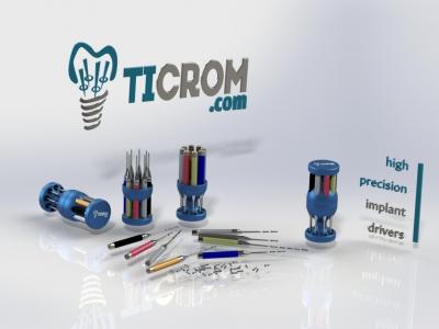 Набор лабораторных отверток Ticrom